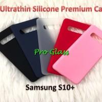 C107 Samsung S10 PLUS Colourful Ultrathin Silicone Case / Matte Case