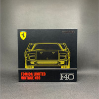 Tomica Limited Vintage Neo Ferrari F40 Yellow Color Rare