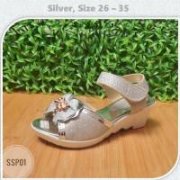 Sepatu Sandal Pesta Anak Perempuan Blink Pita Usia 3 4 5 6 7 8 9 Thn