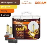 Osram Lampu Kabut Mobil H11 Fog Breaker 12V 55W - 64211FBR - Kuning
