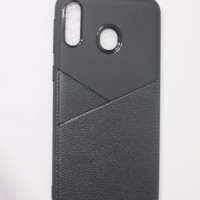 SOFT BACK COVER LEATHER SKIN CASING CASE SAMSUNG GALAXY M20, M 20