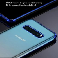 Soft Case Electroplated Transparant Samsung Galaxy S10 Plus +