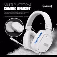 Sades SNOWWOLF Multi Platform Gaming Headset