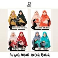 Jilbab Syar'i Segi Empat Bolak Balik Promo 150K dapat 3PC