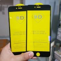 TEMPERED GLASS FULL LEM 6D IPHONE 6 PLUS IPHONE 6S PLUS - BLACK WHITE
