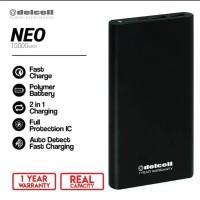 Powerbank Delcell Neo 10000mAh Power Bank Original Real Kapasitas