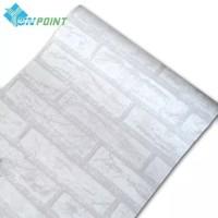 Bata putih 45cm x 10mtr ~ Wallpaper dinding sticker