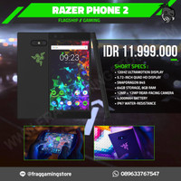 Razer Phone 2 Gaming Smartphone 8GB RAM 64GB Snapdragon 845