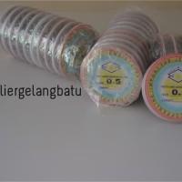 Tali Kawat Aksesoris 0,5 bahan Gelang Kalung craft fashion 0.5 mm bead