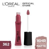 L'Oreal Lipstik Matte Infallible Pro-Matte Liquid Lip 362 Plum Bum