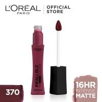 L'Oreal Lipstik Matte Infallible Pro-Matte Liquid Lip 370 Roseblood