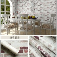 Bata white pastel 45 cm x 10 mtr ~ Wallpaper sticker dinding