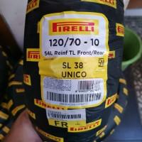 ban pirelli 120/70-10 SL38 (Ban Vespa Lx / S belakang)