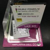 Baterai Log on Xiaomi Redmi Note 2 BM45 4500Mah Double Power [AP]