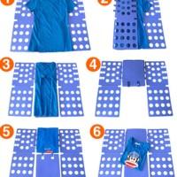promo alat melipat baju praktis tanpa setrika filpfold alat bantu