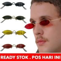 kacamata Pria Wanita Frame Metal Kecil