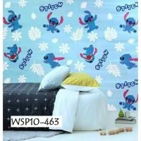 Wallpaper dinding 45cm × 10mtr | lilo stitch new