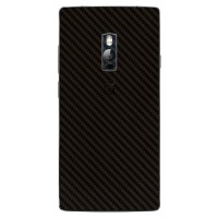 Skin Protector u/ Case OnePlus 2 Two - 3M Black Carbon