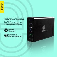 Uneed Smart Travel Charger 6 Port Qualcomm Quickcharge 3.0 - UCH07Q3