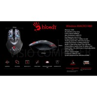 Mouse Gaming Macro Wireless Bloody R80 by A4Tech