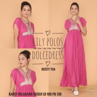 daster arab/india/dubai/turki dolce lily dress busui