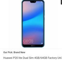 Huawei P20 Lite Dual Sim 4GB/64GB