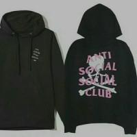 HOODIE ASSC anti sosial sosial club hoodie keren best quality
