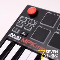 Akai Mpk Mini Mk2 - Ultra Portable Usb Midi Keyboard 25key With Pad