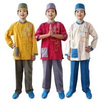 Baju Koko Anak Warna Fayrany FKW-011 Size 6 - 15 Tahun