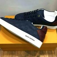 Sepatu Shoes Branded Sneakers Louis Vuitton - Miror Cloning Import