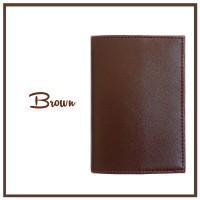 SOUVENIR COVER CASE SAMPUL TEMPAT SARUNG PASSPORT HOLDER BROWN