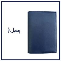 SOUVENIR COVER CASE SAMPUL TEMPAT SARUNG PASSPORT HOLDER NAVY