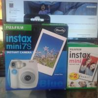 Camera Fuji film instax mini 7s+Refil film 20Lbr segel ORI CASHBACK 3%