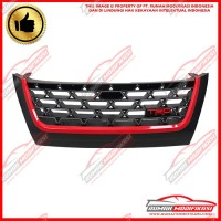 GRILL - TOYOTA FORTUNER 2016-2019 - TRD - BLACK - RED LIST