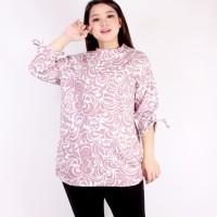 Blouse Jumbo Zaskia 3XL / Baju Ukuran Besar / Baju Wanita Big Size