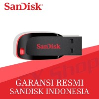 SanDisk Cruzer Blade 16GB CZ50 flashdisk - Garansi Resmi