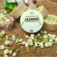 Sabun ALAMI Melati   Jasmine Soap with Oat & Rice Scrub TRUE BODY CARE