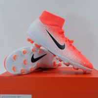 Sepatu Bola Nike Superfly 6 Club FG/MG Crimson White AH7363-801 Ori