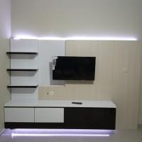 furniture meja tv atau bedrop tv harga 1.35jt/ meter2