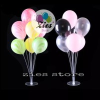 7in1 stick Cup Standing balon + tatakan / tiang dekorasi balon