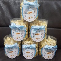 dessert table / caramel popcorn untuk ulang tahun