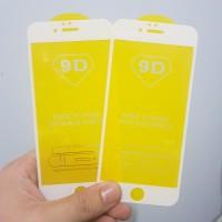 TEMPERED GLASS FULL LEM 9D IPHONE 6 6G IPHONE 6S - BLACK WHITE