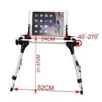 2017 Tablet Mount Holder Floor Desk Sofa Bed Stand for iPad Pro 10.5 m