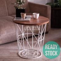 Meja Kayu Jati Custom - Coffee Table - Side Table -Samping - Tamu - Ko
