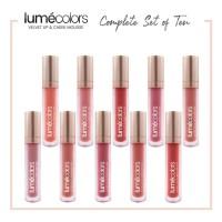 LUMECOLORS VELVET LIP & CHEEK MOUSSE - COMPLETE SET OF 10