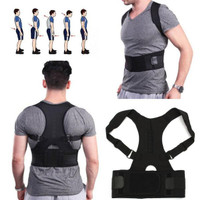 Penyangga Punggung Shoulder Back Support Belt Posture Corrector Korset