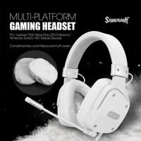 Sades Snowwolf Gaming Headset Garansi Resmi