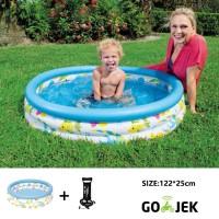 Jenn toys-kolam renang mandi bola coral kids pool 51009+pompa12''