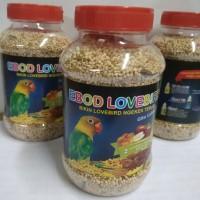 pakan burung lb ebod lovebird botol pakan harian dewasa dan balibu