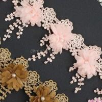 renda bunga panjang